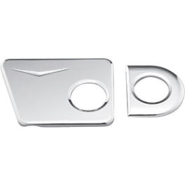 Honda Genuine Accessories Billet Swingarm Pivot Cover Set - Honda Genuine Accessories Chrome Driveshaft Cover