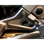 Honda Genuine Accessories Footpeg Trim - Carbon Fiber - Honda Genuine Accessories Motorcycle Body Parts
