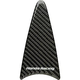 Honda Genuine Accessories Carbon Fiber Tank Trim - Honda Genuine Accessories Carbon Fiber Tank Pad