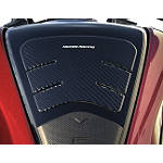 Honda Genuine Accessories Tank Pad - Carbon Fiber - Honda Genuine Accessories Dirt Bike Products