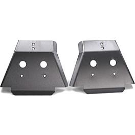 Honda Genuine Accessories A-Arm Guards - Rear - Honda Genuine Accessories Rear Skid Plate
