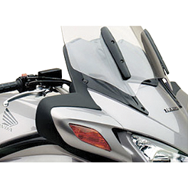 Honda Genuine Accessories Mirror Air Deflector Set - Honda Genuine Accessories Saddlebag Scuff Pad Set