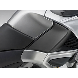 Honda Genuine Accessories Knee Pad Set - Honda Genuine Accessories Saddlebag Scuff Pad Set