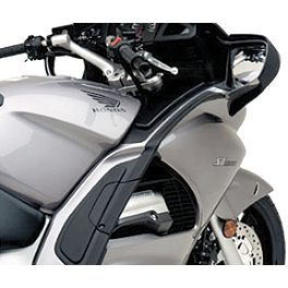 Honda Genuine Accessories Fairing Air Deflector Set - Honda Genuine Accessories Saddlebag Scuff Pad Set