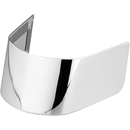 Honda Genuine Accessories Chrome Front Fender Trim - Honda Genuine Accessories Chrome Windscreen
