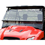 Honda Genuine Accessories Two-Piece Folding Windscreen - Honda Genuine Accessories Utility ATV Body Parts and Accessories