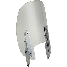 Honda Genuine Accessories Adjustable Windscreen - 2006 Honda VTX1800F3 Honda Genuine Accessories Synthetic Leather Saddlebags - 18L Studded