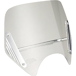 Honda Genuine Accessories Clear Boulevard Screen - 2006 Honda VTX1800C1 Honda Genuine Accessories Chrome Rear Carrier