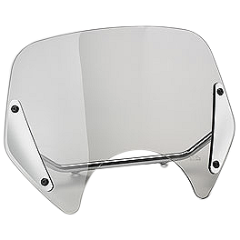 Honda Genuine Accessories Boulevard Windscreen Mount Kit - 2004 Honda VTX1300S Honda Genuine Accessories Leather Saddlebags - 24L Studded