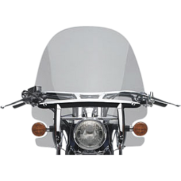 Honda Genuine Accessories Tall Windscreen - 2011 Honda Stateline 1300 - VT1300CR Honda Genuine Accessories Chrome Rear Carrier