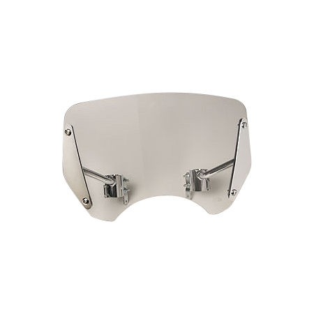 Honda Genuine Accessories Boulevard Windscreen - Smoke - Main
