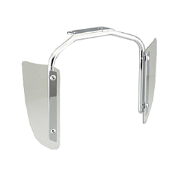 Honda Genuine Accessories Lower Wind Deflectors - 2006 Honda VTX1800C1 Honda Genuine Accessories Chrome Rear Carrier