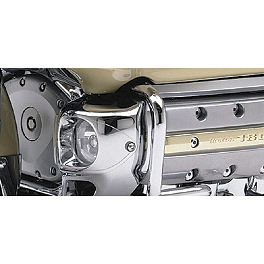 Honda Genuine Accessories Halogen Foglight Kit - 2007 Honda Gold Wing 1800 Audio Comfort Navigation - GL1800 Honda Genuine Accessories Chrome Trunk Rack