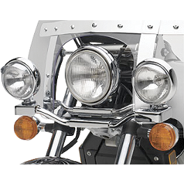 Honda Genuine Accessories Chrome Lightbar - 2007 Honda Shadow Spirit - VT750C2 Cobra Lightbar - Chrome
