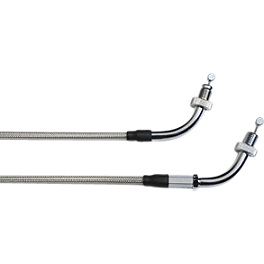 Honda Genuine Accessories Braided Throttle Cable - 2011 Honda Interstate 1300 - VT1300CT Honda Genuine Accessories Chrome Rear Carrier