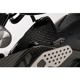 GYTR Carbon Fiber Rear Fender - GYTR Fuel Cap Accent - Carbon Look