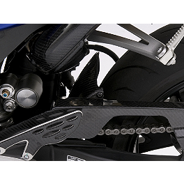 GYTR Carbon Fiber Chain Guard - GYTR Fuel Cap Accent - Carbon Look