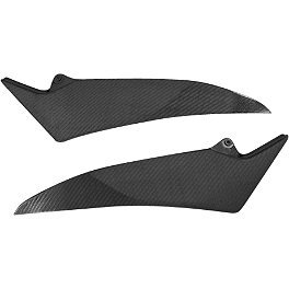 GYTR Carbon Fiber Tank Trim - GYTR R1 Bike Cover - Black