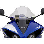 GYTR Raised Bubble Windscreen - Clear - Yamaha Motorcycle Windscreens and Accessories