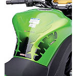 Kawasaki Genuine Accessories Tank Pad With Key Fob Guard - Motorcycle Tank Protectors
