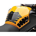 Kawasaki Genuine Accessories Black Opaque Tank Pad - Motorcycle Tank Protectors