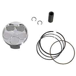 GYTR High Compression Piston - 2007 Yamaha YZ250F GYTR Stainless Steel Exhaust System - 99 dBA