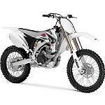 GYTR Plastic Kit - White - Yamaha GYTR Dirt Bike Plastic Kits