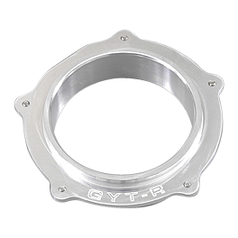 GYTR Billet Air Filter Adaptor Plate - GYTR Performance Head Pipe Stainless Steel