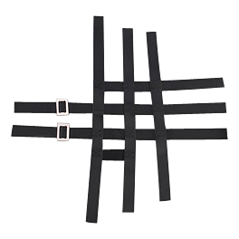 GYTR Replacement Nerf Bar Webbing - Black - GYTR Replacement Webbing for Nerf Bar/Footwell/Peg Combo