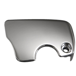 Yamaha Star Accessories Raider Clutch Bleeder Covers - Chrome - Danny Gray Airhawk Passenger Bigseat - Plain