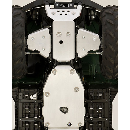 Yamaha Genuine OEM Engine Skid Plate / Front Bash Plate Combo - Main