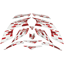 GYTR Retro Graphic Kit - Red - GYTR Drip Graphic Kit - White