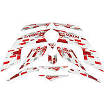 GYTR Retro Graphic Kit - Red - Yamaha GYTR ATV Products