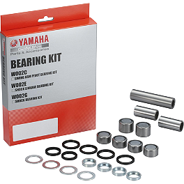 Yamaha Genuine OEM Shock Linkage Bearing Kit - Yamaha Genuine OEM Off-Road Rear Wheel - 2.15 x 19 Silver