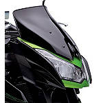 Kawasaki Genuine Accessories Wind Deflector - Smoke - Kawasaki OEM Parts Motorcycle Windscreens