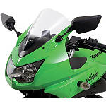 Kawasaki Genuine Accessories Bubble Windshield - Kawasaki OEM Parts Motorcycle Windscreens and Accessories