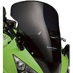 Kawasaki Genuine Accessories Spoiler Windscreen - Kawasaki OEM Parts Motorcycle Wind Shields