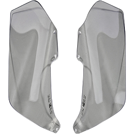 GYTR Side Wind Deflectors - Clear - GYTR Tall Windshield - Clear