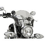 Yamaha Star Accessories Boulevard Midnight Windshield - Motorcycle Windshields & Accessories