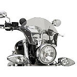 Yamaha Star Accessories Boulevard Chrome Windshield - Motorcycle Windshields & Accessories