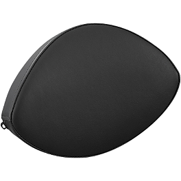 Yamaha Star Accessories Standard Backrest Pad - Yamaha Star Accessories Fixed Mount Midnight Short Passenger Backrest