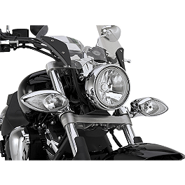 Yamaha Star Accessories Passing Lamps - Yamaha Star Accessories Hard Saddlebags - Raspberry Metallic