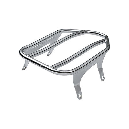 Victory OEM Vegas And Kingpin Solo Luggage Rack - Chrome - Main