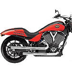 Victory OEM Stage 1 Shotgun Exhaust - Chrome -