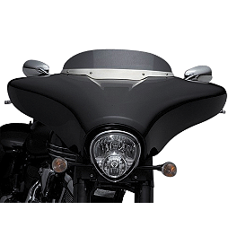 Yamaha Star Accessories Stratoliner Deluxe Fairing Kit - Primer - 2012 Yamaha Roadliner 1900 S - XV19S Yamaha Star Accessories Hard Leather Saddlebags