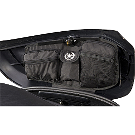 Yamaha Star Accessories Lid Organizers for Deluxe Hard Sidebags - Kuryakyn Saddlebag Top Accents