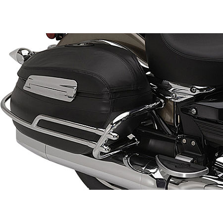 Yamaha Star Accessories Deluxe Hard Sidebag Trim Rails - Main