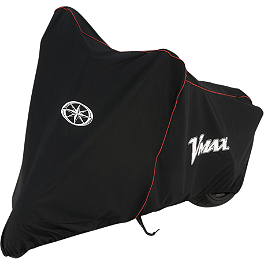 Yamaha Star Accessories VMAX Motorcycle Cover - Yamaha Star Accessories Hard Saddlebags - Black