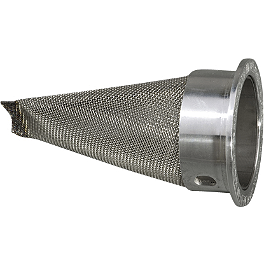 GYTR FMF Powercore Replacement Spark Arrestor Insert - GYTR LightSpeed Carbon Fiber Right Fork Lug Cover