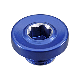 GYTR 36mm Timing Plug - Blue - 2010 Yamaha RAPTOR 700 GYTR Ballance Racing Front Grab Bar